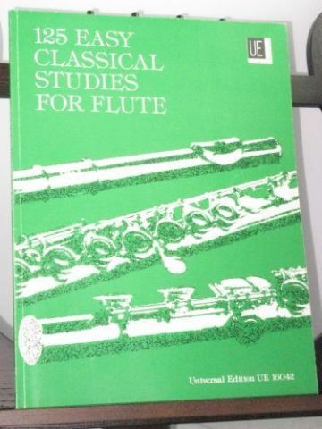Various composers - 125 Classical Studies for Flute